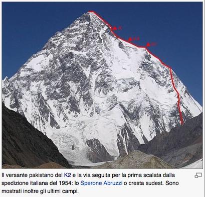 Una Fiction Sulla Conquista Del K2 La Montagna Ditalia In