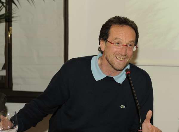 Egidio Bonapace durante la conferenza - Copyright Francesca Gregori, tutti i diritti riservati
