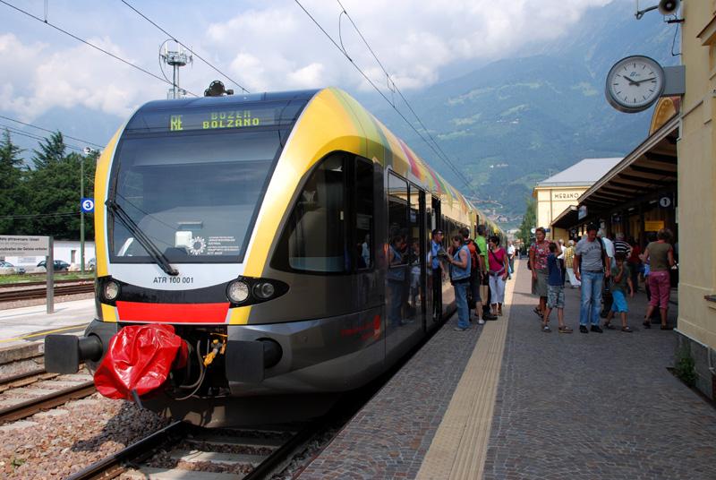 Ferrovia della Val Venosta - © foto Francesca Gregori