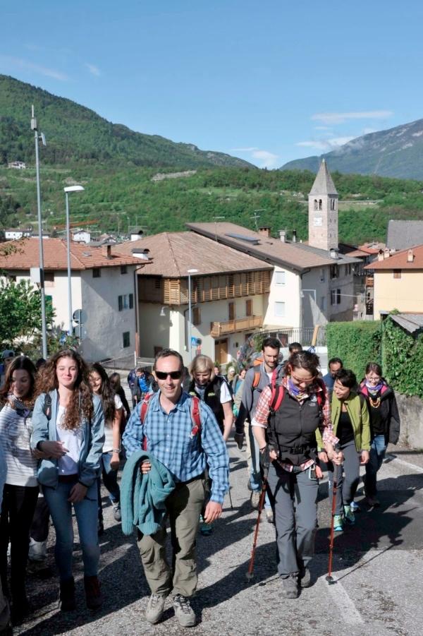 Enrico Brizzi - camminata Racconto Itinerante - Fonte: Itas