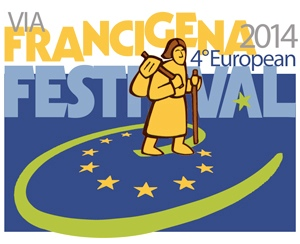 Francigena 2014, European Festival - logo