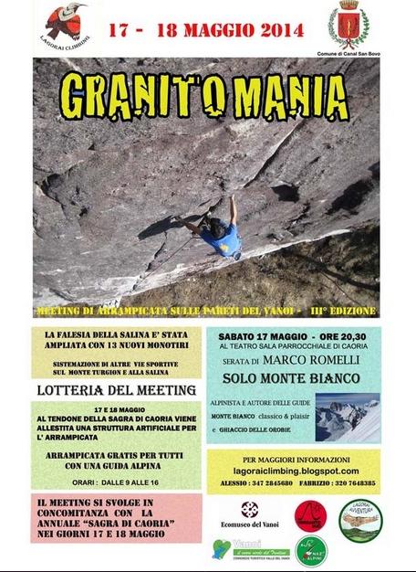 Granitomania 2014 - locandina