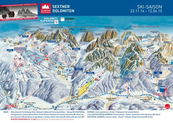 Comprensorio sciistico Dolomiti di Sesto