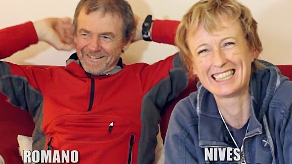 Romano Benet e Nives Meroi - fonte: www.golivefvg.com