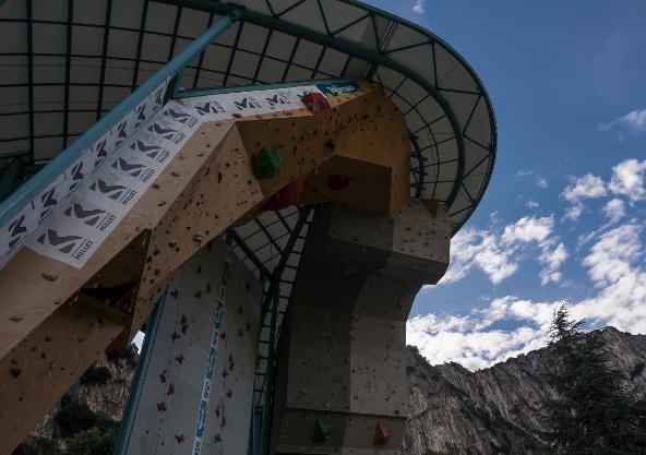 struttura arrampicata - Garda Climbing Challenge 2014