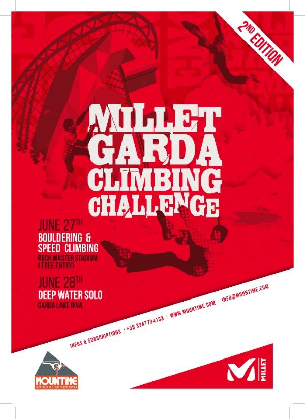 Garda Climbing Challenge 2014 - locandina