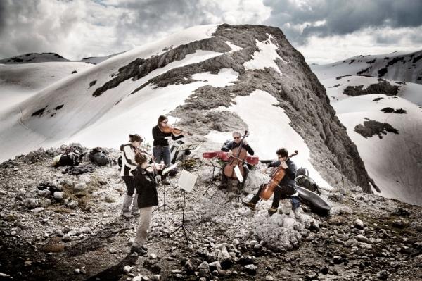 I Suoni delle Dolomiti - Mario Brunello, Trekking. Foto: Daniele Lira