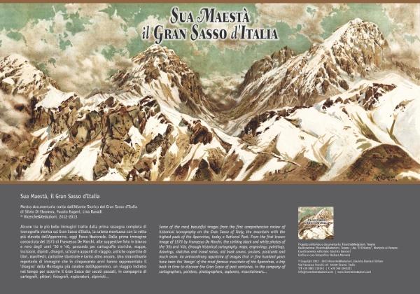 Sua Maestà il Gran Sasso - cover presentazione mostra documentaria