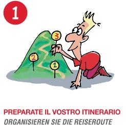 una delle tavole del vademecum - illustrazione di Bruno Bozzetto