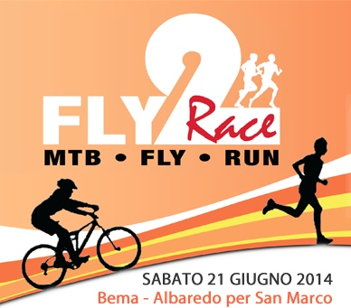 FLY2RACE locandina 2014