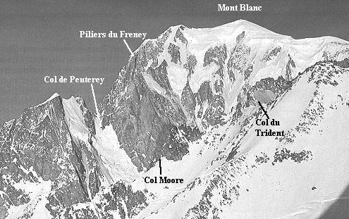 Pilone centrale del Freney - Monte Bianco. Fonte: blog.radiopopolare.it