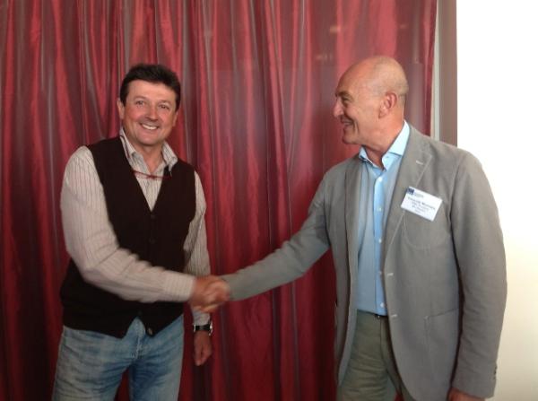 Adriano Favre e Armando Mariotta. Fonte: www.ismf-ski.org