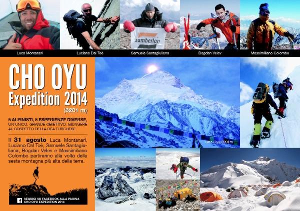 Cho Oyu Expedition 2014 - cartolina