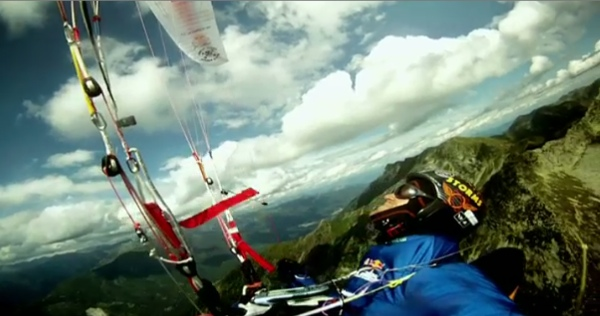 Red Bull X-Alps - immagine da video 2013