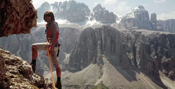 Reinhold Messner, 1963 - fonte: www.reinhold-messner.de