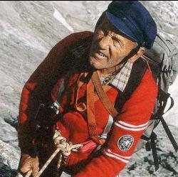 Riccardo Cassin. Fonte immagine: www.icebergfilm.ch