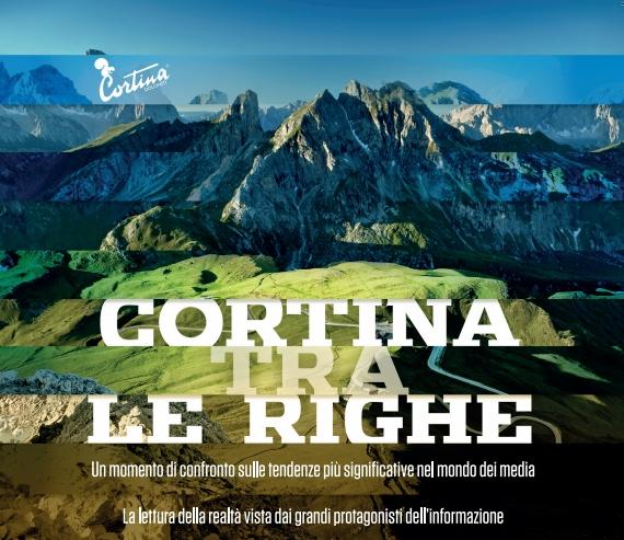Cortina tra le righe 2014. Cover brochure