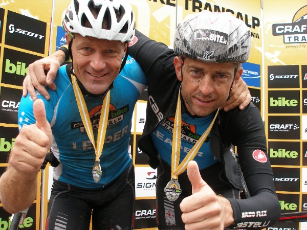 Craft Bike Transalp 2014 - Laner, Debertolis - fonte: press gara