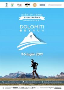 Dolomiti Sky Run 2014 - locandina
