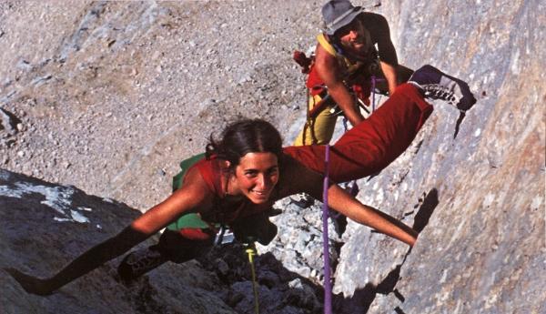 Mariacher-Iovane negli anni '70. Fonte immagine: www.paretiverticali.it