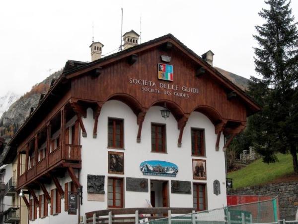 La sede del Museo Duca Degli Abruzzi, Società delle Guide di Courmayeur - fonte: www.lovevda.it