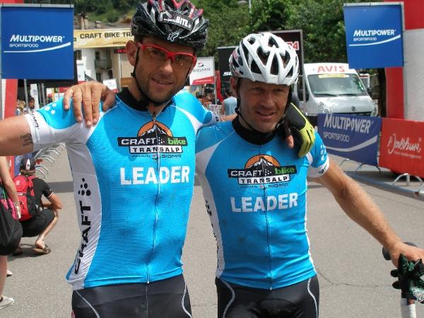 Debertolis-Laner, Craft Bike Transalp 2014, fonte: press gara