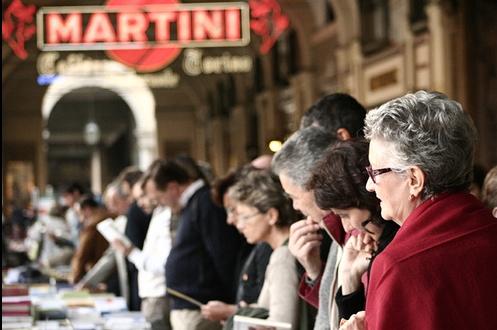 Portici di carta 2007. Fonte immagine: Fondazione del libro di Torino