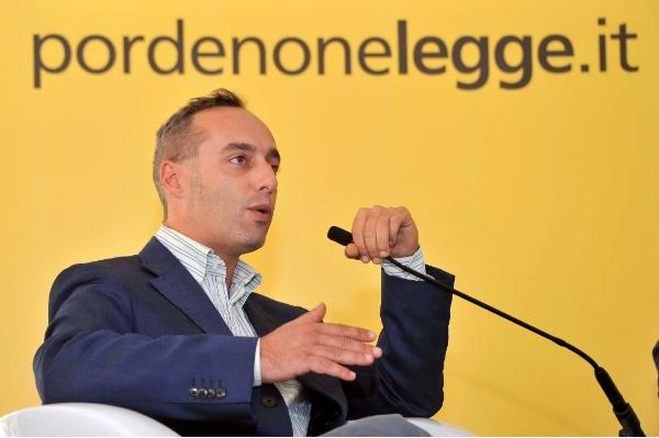 Enrico Brizzi. Fonte immagine: press Pordenonelegge 2014