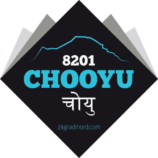 Spedizione al Cho Oyu, 2014. Fonte logo: www.23gradinord.com