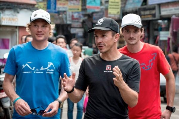 Boehm, Haag, Zambaldi a Kathmandu. Foto: Double8 Expedition