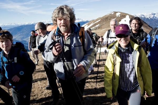 Reinhold Messner a IMS nel 2010. Foto: Antonia Zennaro/IMS