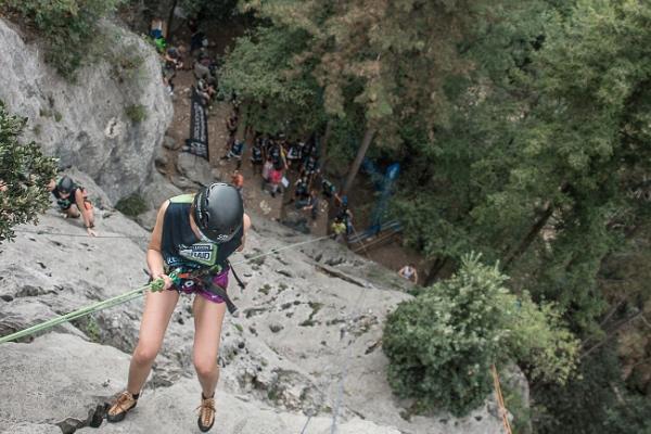 Rewoolution Raid Summer 2014, prova sport climbing
