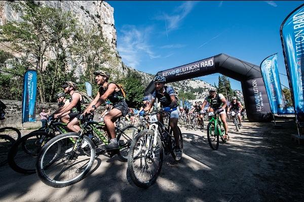 Rewoolution Raid Summer 2014, prova mountain bike