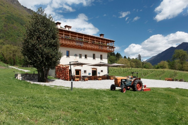 Valle del Chiese, agritur La Polentera