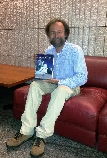 """Franco Michieli, vincitore della sezione """"Alpinismo"""" del Premio Gambrius """"Giuseppe Mazzotti"""" 2014"""