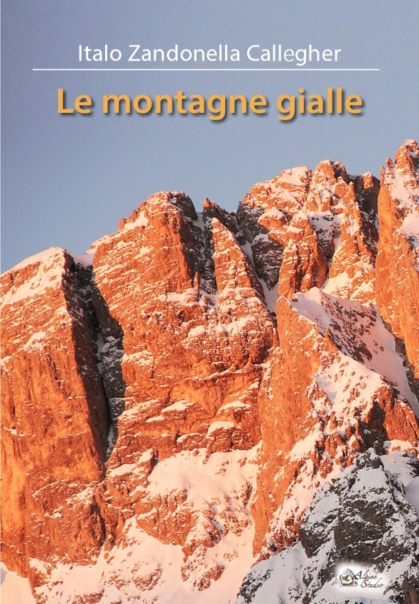 Le montagne gialle, cover