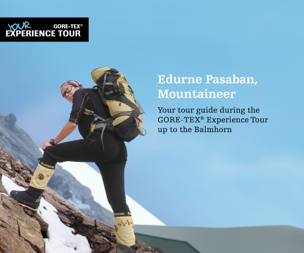 "Edurne Pasaban, Gore-Tex® Experience Tour ""History Sessions"""