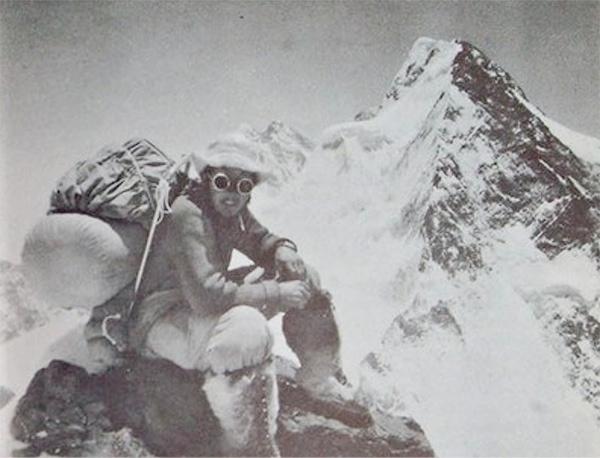 """Walter Bonatti. Fonte immagine: pagina facebook """"In capo al mondo"""""""