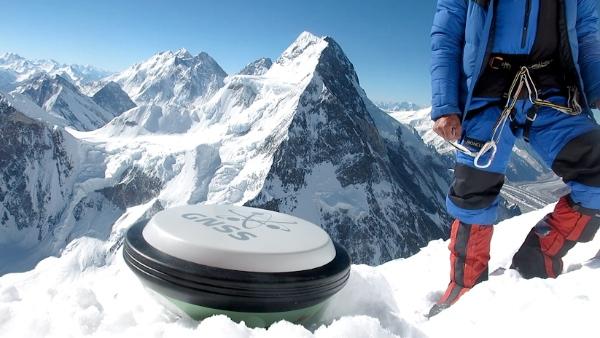K2, Campo 3, rilevazione con Gps. Fonte immagine: EvK2Cnr