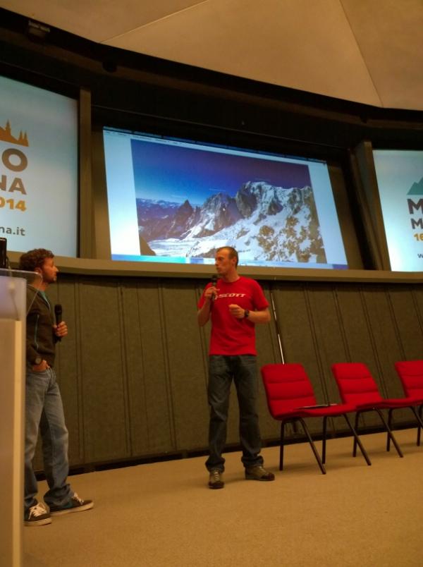 Davide Capozzi e Luca Rolli raccontano le loro leggendaria discese sul Monte Bianco, Milano Montagna 2014