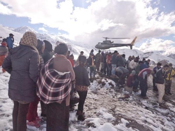 Nepal, Himalaya. Foto: EPA, fonte: www.ansa.it