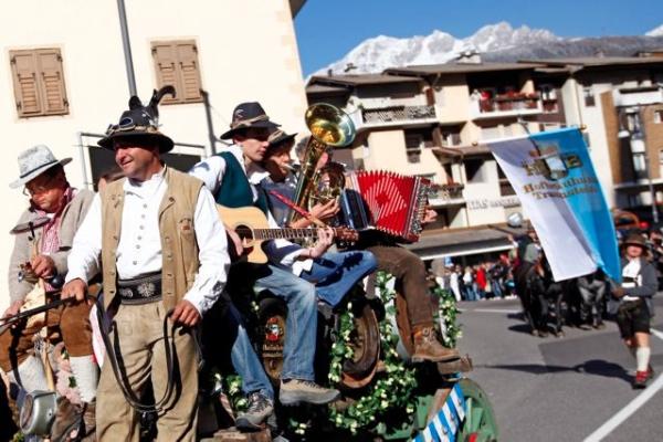 Oktoberfest di Predazzo. Foto di archivio. Fonte: www.oktoberfest.it