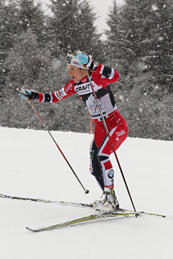 Tour de Ski, Johaug. Fonte: www.fiemmeworldcup.com