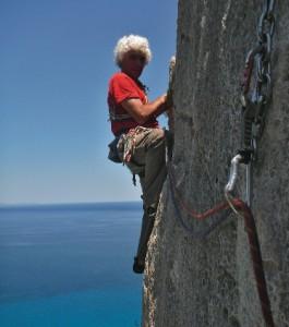 Alessandro Gogna. Immagine tratta dal programma della 48^ Festa della Montagna, Faenza