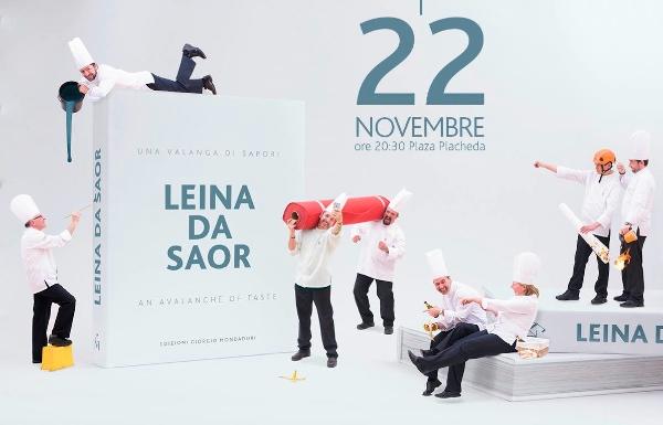 """Locandina della presentazione del libro """"Leina da saor"""" a Livigno"""