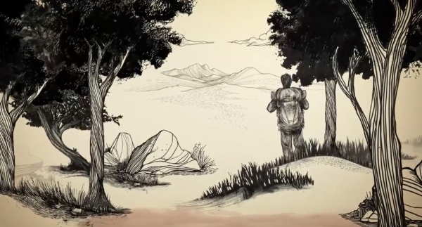 Drawn,  title sequence. Fonte: vimeo.com