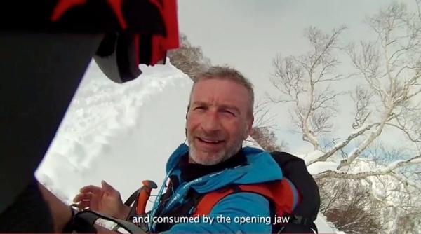 """Massimo Braconi. Immagine dal video """"I diari del Brac"""". Fonte: www.youtube.com"""