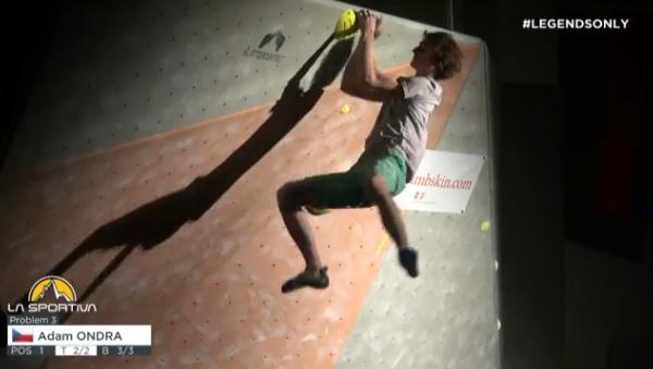 Adam Ondra, La Sportiva Legends Only 2014. Fonte: www.youtube.com
