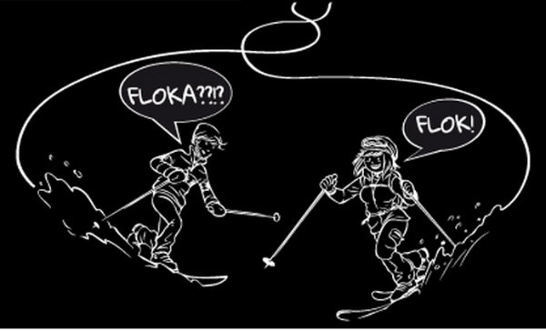 Flok e Floka, i fumetti de La Skieda® 2015