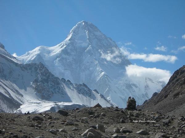 K2. Foto: Denis Urubko. Fonte: pagina facebook Urubko